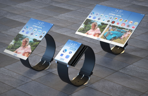 A smartwatch that unfolds into a smartphone a smartwatch that unfolds into a smartphone A smartwatch that unfolds into a smartphone? This is what it would look like smartwatch foldable display 300x195