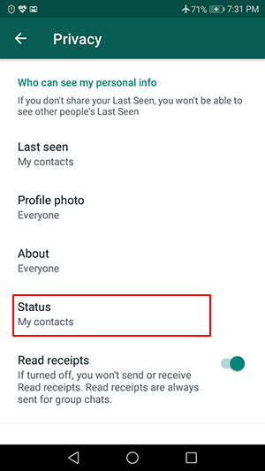 How to Appear Offline on WhatsApp how to appear offline on whatsapp How to Appear Offline on WhatsApp Step by Step with Pictures Screenshot 4