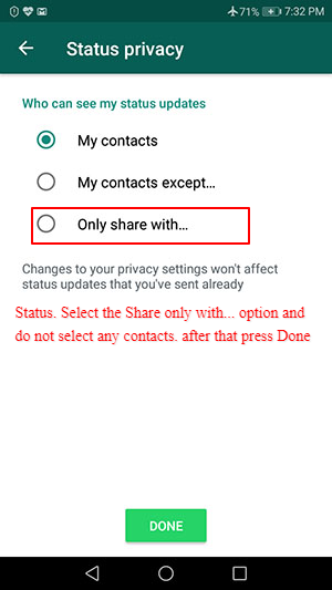 How to Appear Offline on WhatsApp how to appear offline on whatsapp How to Appear Offline on WhatsApp Step by Step with Pictures Screenshot 5