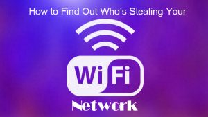 find out if someone is stealing my wifi find out if someone is stealing my wifi How to find out if someone is stealing my wifi network Wifi 6 thumb800 300x169
