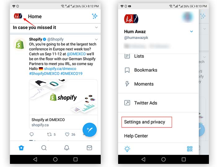 how to identify and check which applications are using your twitter How to identify and check which applications are using your Twitter account step by step (with pictures) twitter mobile